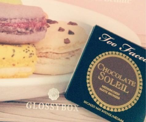 "GLOSSYBOX ""La Gourmande""Octobre 2015"