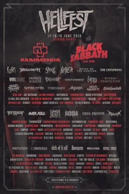 Hellfest 2016 affiche 1