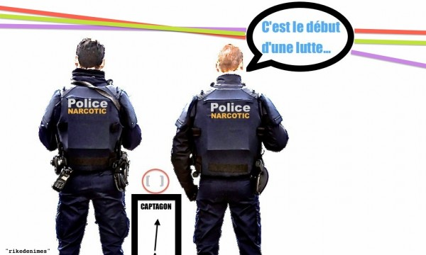 Policiers mobilisés