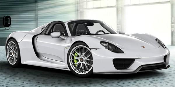 La Porsche 918 Spyder