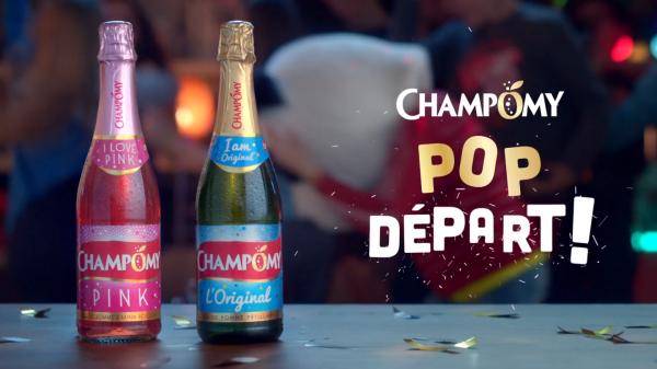 Les bouteilles Champomy