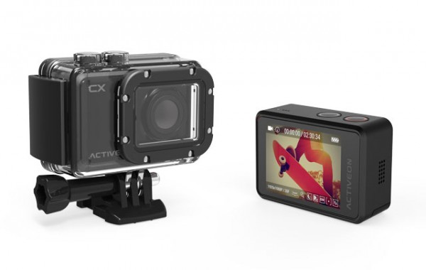 Activeon CX surpasse les caméra Go Pro
