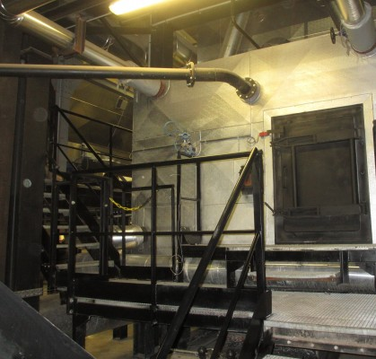 chaufferie biomasse de Stains chaudière