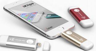 IOS d'APPLE IKlips la nouvelle clef USB de stockage