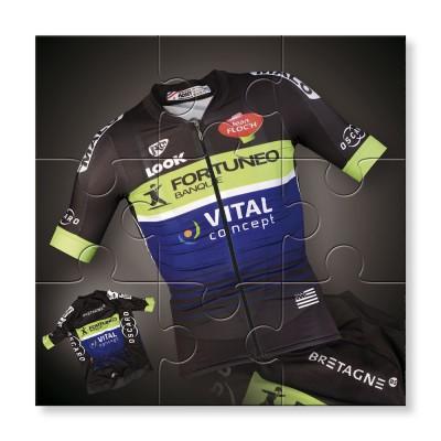 Maillot de l'équipe Fortuneo-Vital Concept pour la saison 2016