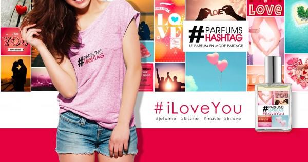 Parfum Hashtag I Love You