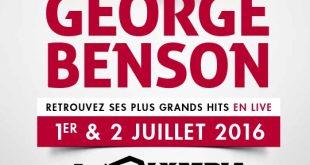 georges benson tour 2016
