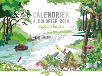 calendrier colorier-2016-nature-larousse