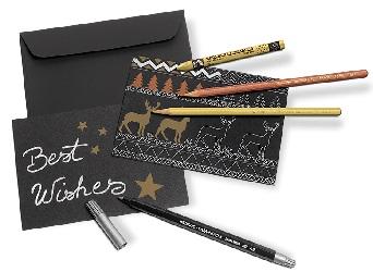 creative-box-metallic-cartes-noel-caran-dache