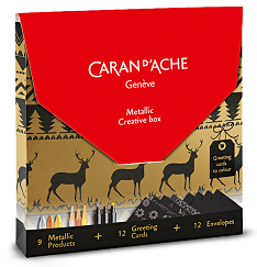 creative-box-metallic-noel-caran-dache