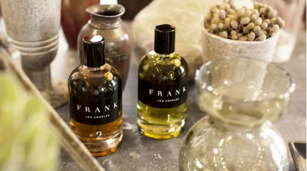 Les deux fragrances (1 et 2) de Frank Los Angeles