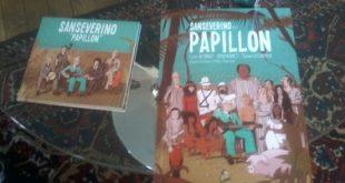 Livre Album papillon - Sanseverino