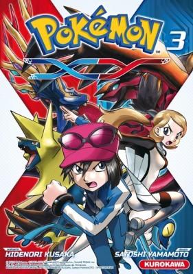 Pokémon XY n°3 ©éd.Kurokawa