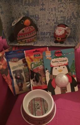 Contenu de la woufbox spécial Noël