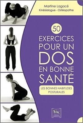 50 exercices pour un dos en bonne santé, Editions Chariot d'or