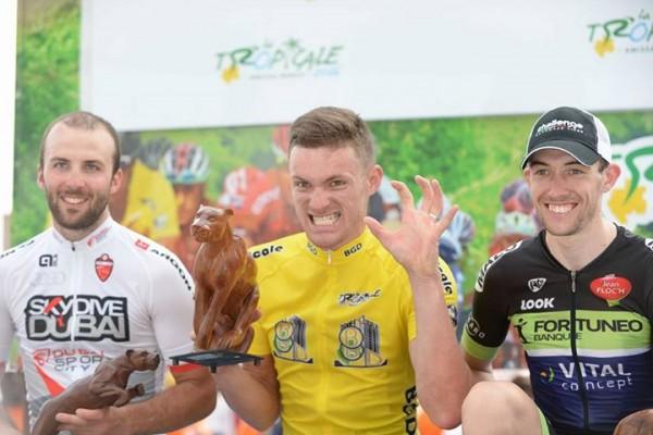 Adrien Petit vainqueur de la Tropicale Amissa Bongo