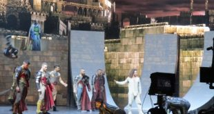 Coulisses Tournage 3D spectacle la legende du roi Arthur (9)