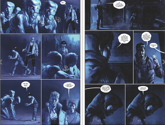Drifter T2 extrait © ed.Glenat Comics