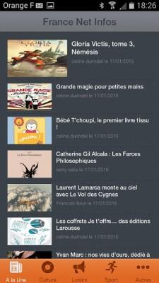 France Net Infos application