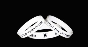 bracelet stop terrorism support the victims