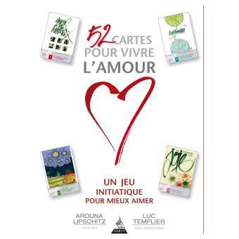 52 cartes pour vivre l'amour, Edition Dervy