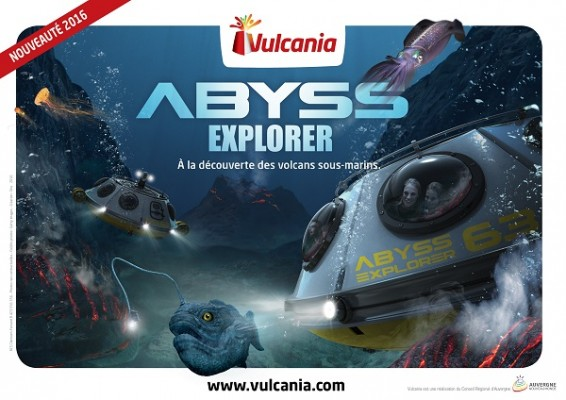 Abyss explorer ©Vulcania