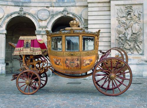 Galerie des carrosses du château de Versailles (Crédit photo : G. Blot)