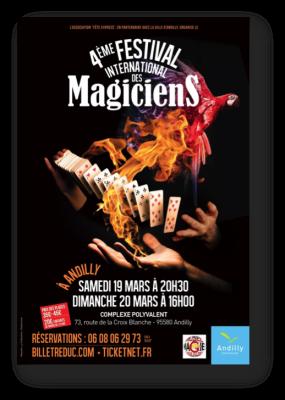 affiche Festival magie