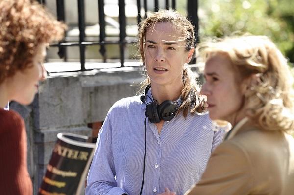Ambiance tournage : Benedicte DELMAS (réalisatrice)