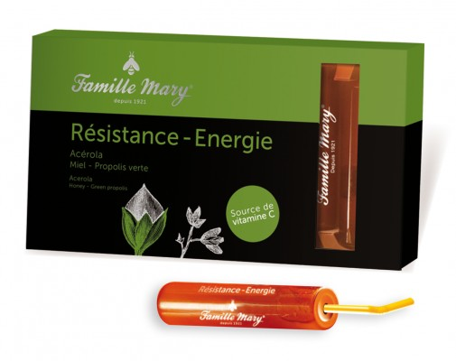 Doses Resistance Energie Propolis Verte Famille Mary