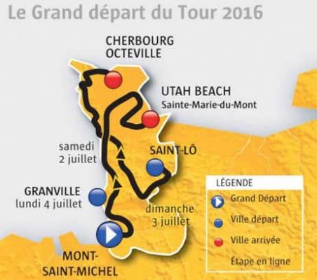 Grand départ du Tour 2016