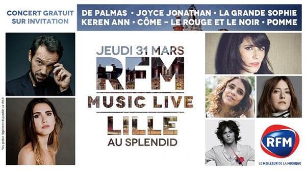 LILLE RFM MUSIC LIVE