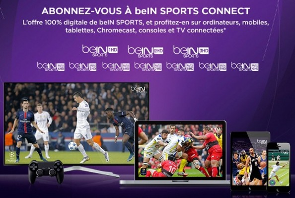 bein sport connect sur vente priv e. Black Bedroom Furniture Sets. Home Design Ideas