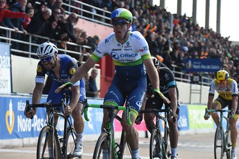 Mathew Hayman s'impose sur Paris-Roubaix