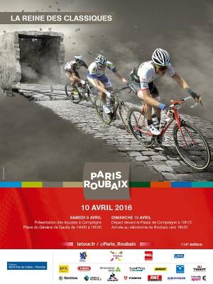 Paris-Roubaix 2016 (Crédit ASO)