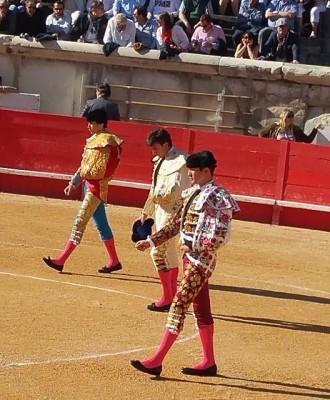 Les trois toreros