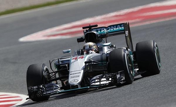 Mercédès Lewis Hamilton