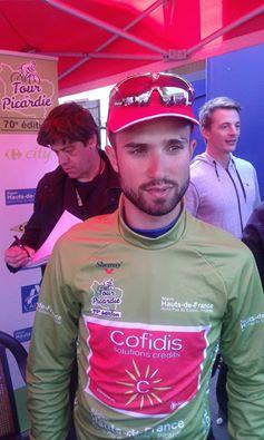 Nacer Bouhanni vainqueur de la première étape