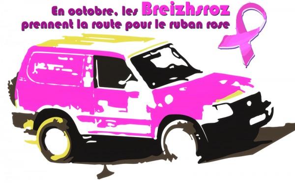 En octobre, les Breizhs Roz prennent la route pour le ruban rose