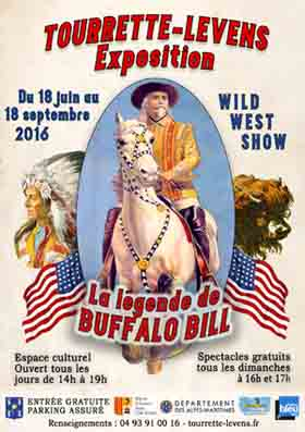 Buffalo Bill à Tourrette-Levens