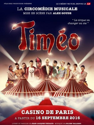 Circomédie musicale Timéo