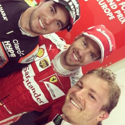 Grand Prix Formule 1 Bakou podium