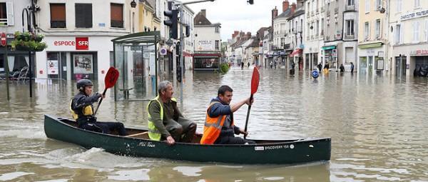 La Seine et Marne touchée par les inondations