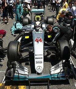 Mercedes Hamilton - Formule 1