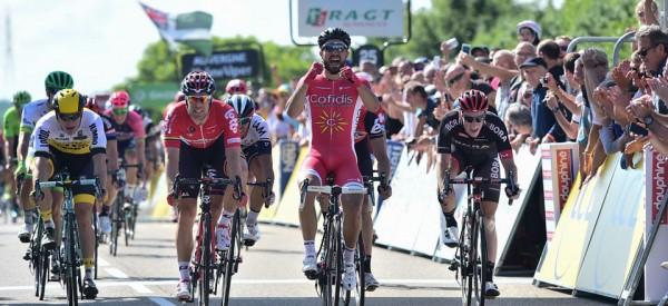Nacer Bouhanni vainqueur à Saint-Vulbas
