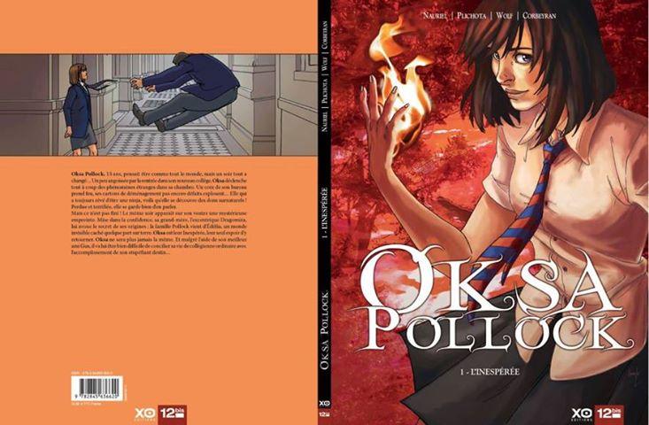 Oksa Pollock ©Éditions XO