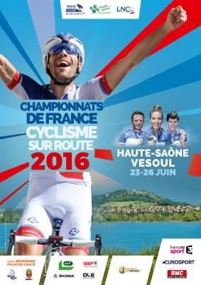 Championnats de France cyclisme route 2016
