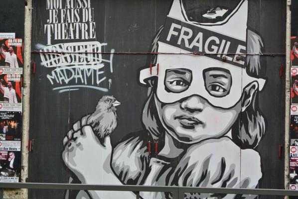 Les artistes de la rue...