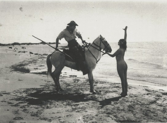 Nudité et cheval