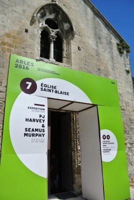 Arles 2016 : PJ HARVEY & S MURPHY